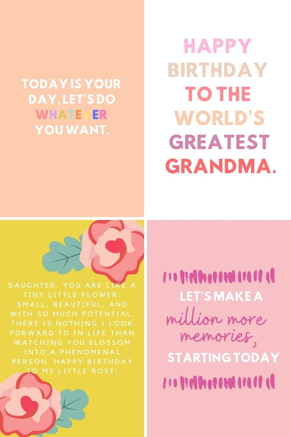 Happy Birthday to her quotes and sayings