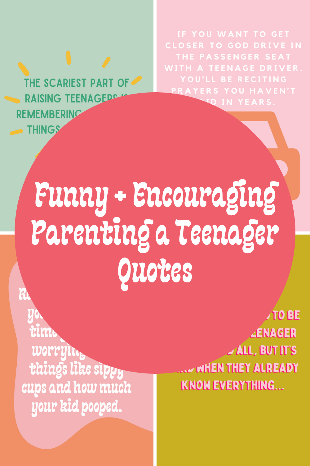 Funny parenting teenager quotes