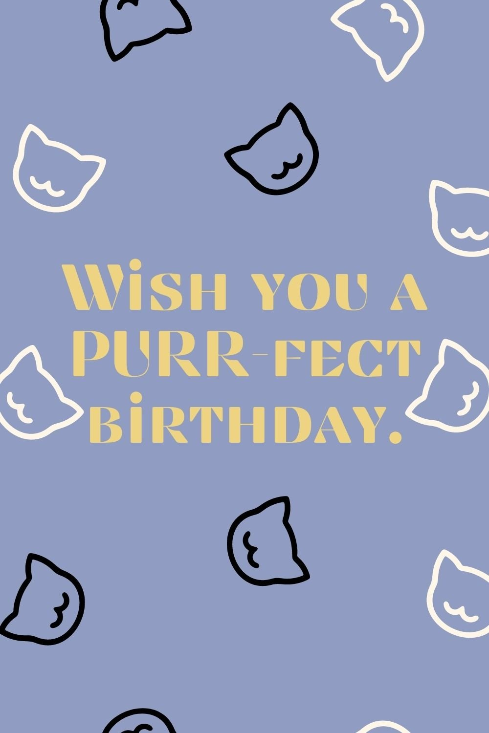 cat birthday quotes for cat lovers