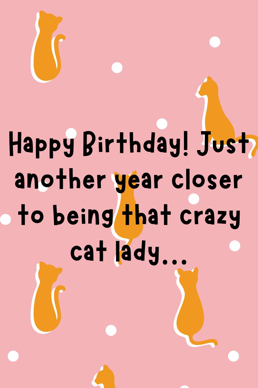 cat lady birthday quotes