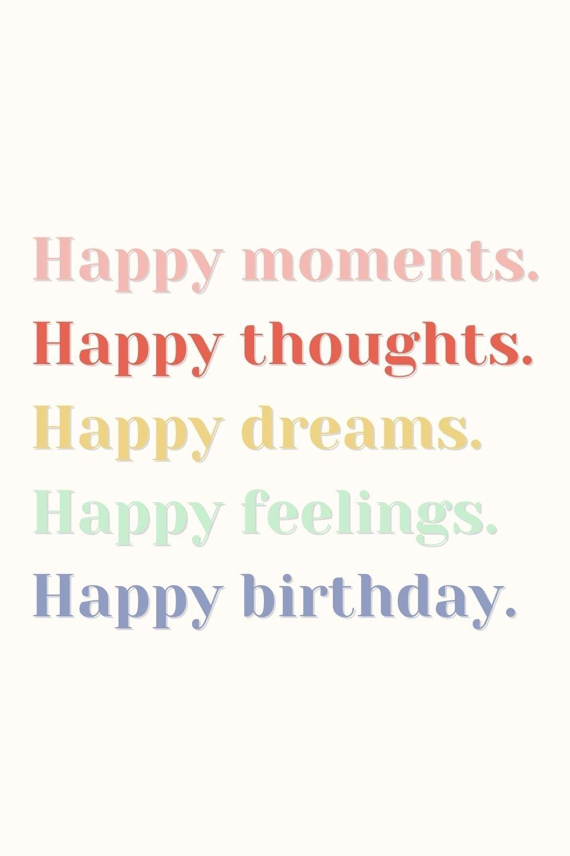 26 Happy Birthday Quotes