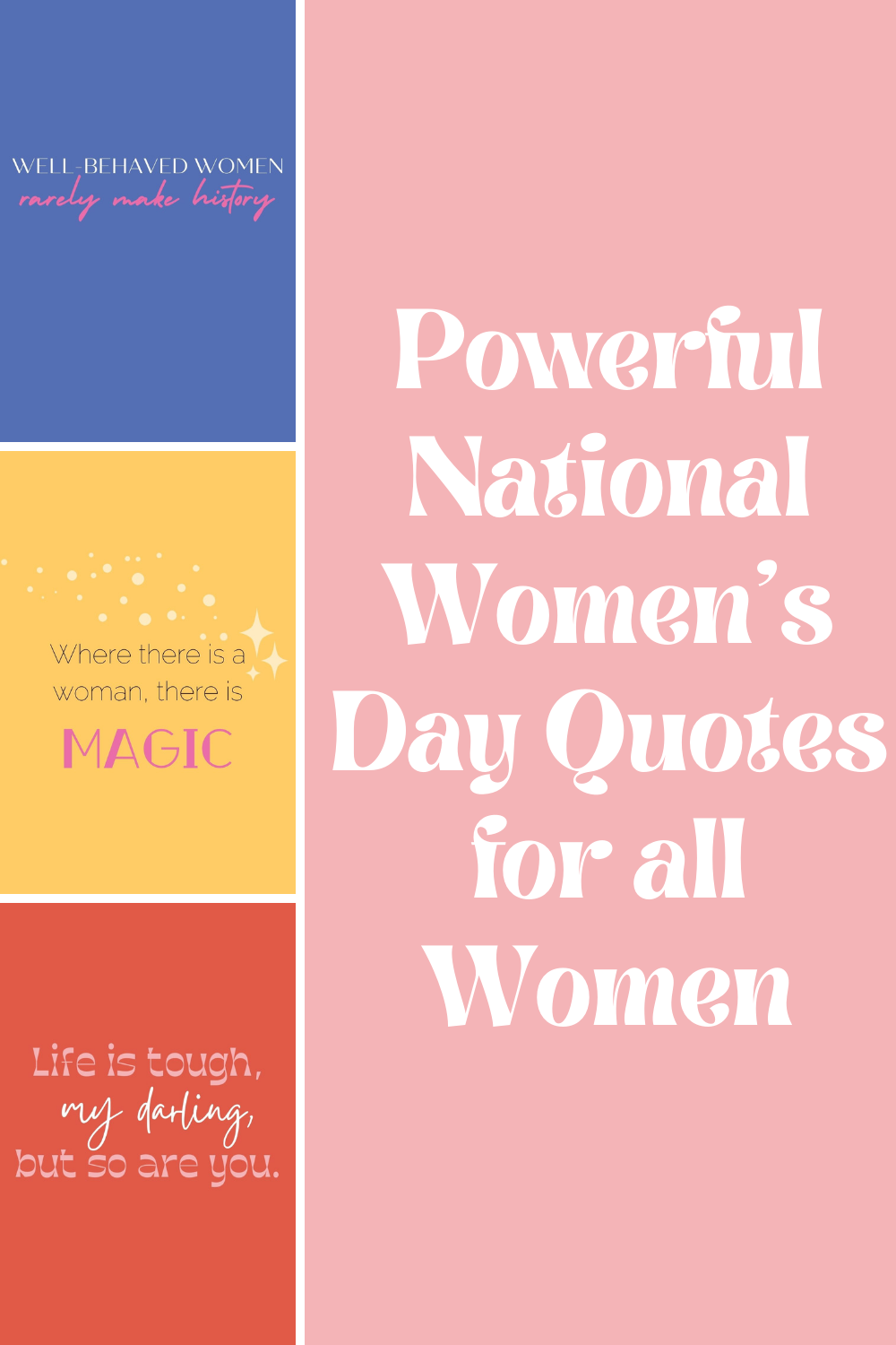 Kickass National Women's Day Quotes