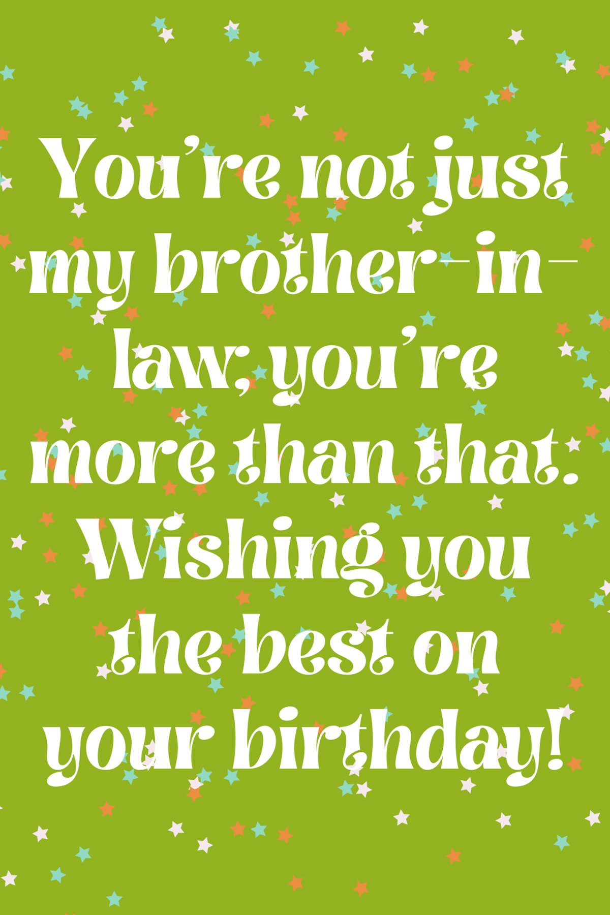 Brother In Law Birthday Quotes