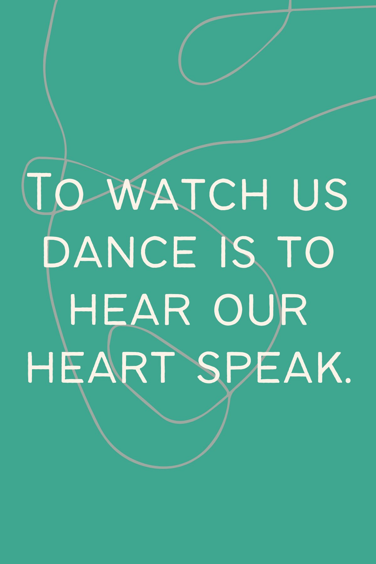 Heart Sayings About Dance