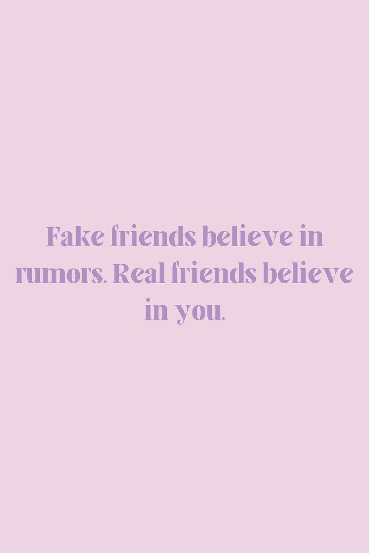 Toxic friendships rumor sayings