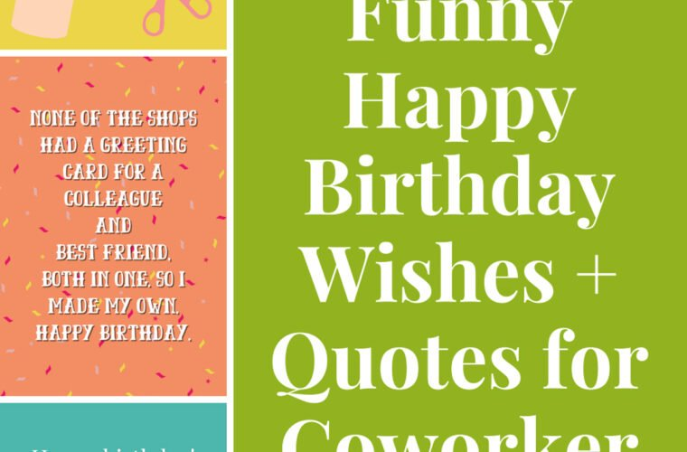 Happy Birthday Wishes Quotes for Coworker