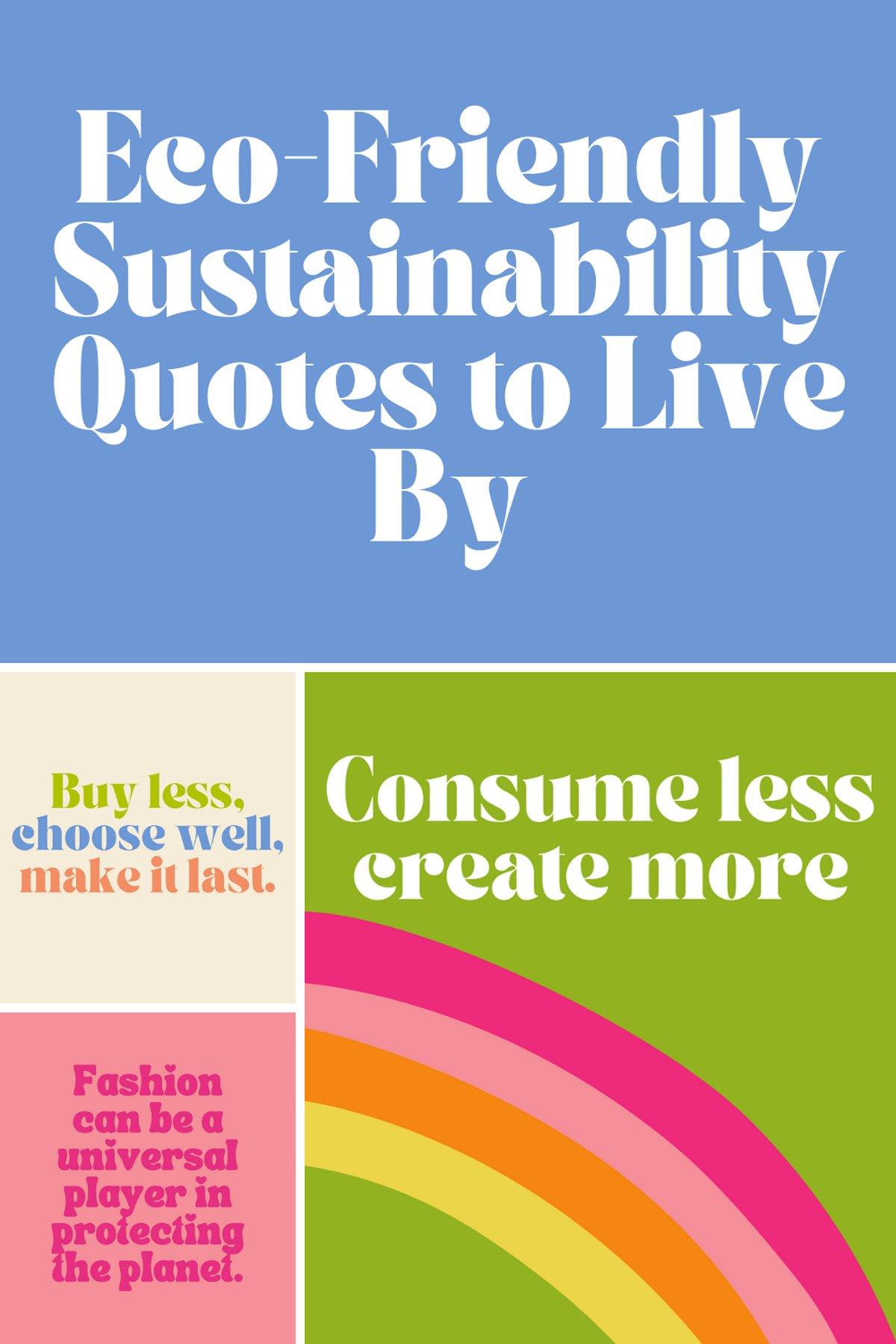 Eco Friendly Lifestyle Quotes