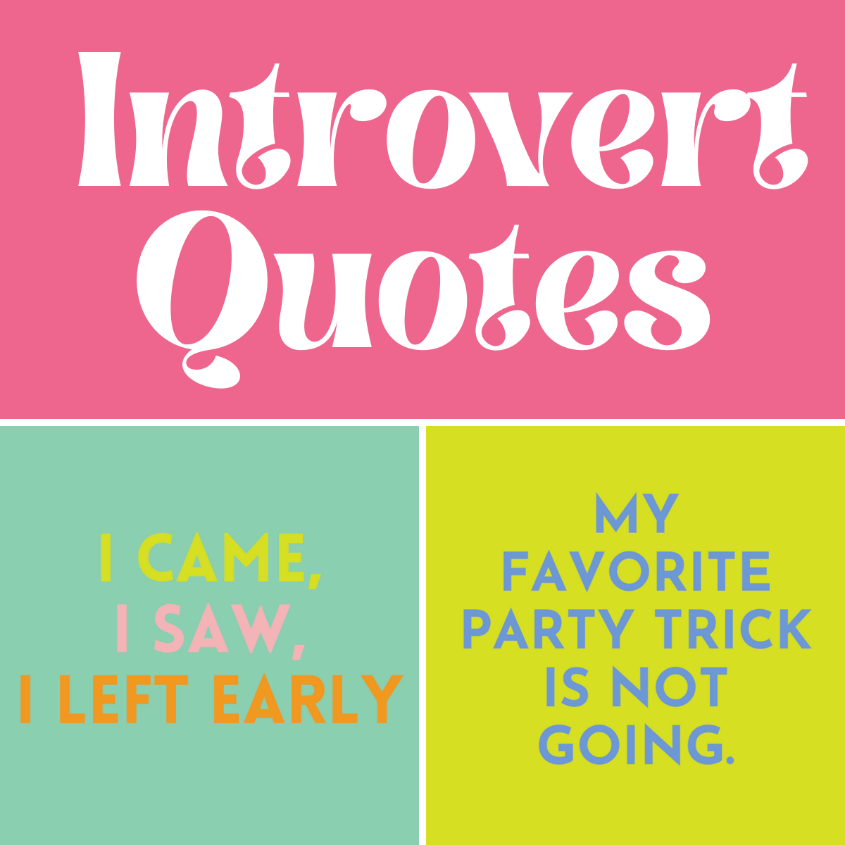 Funny Introvert Quotes To Share
