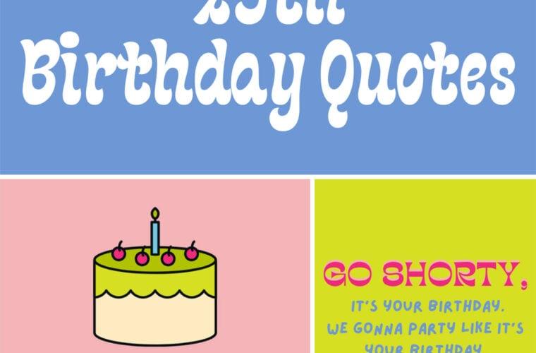 29th Birthday Quotes