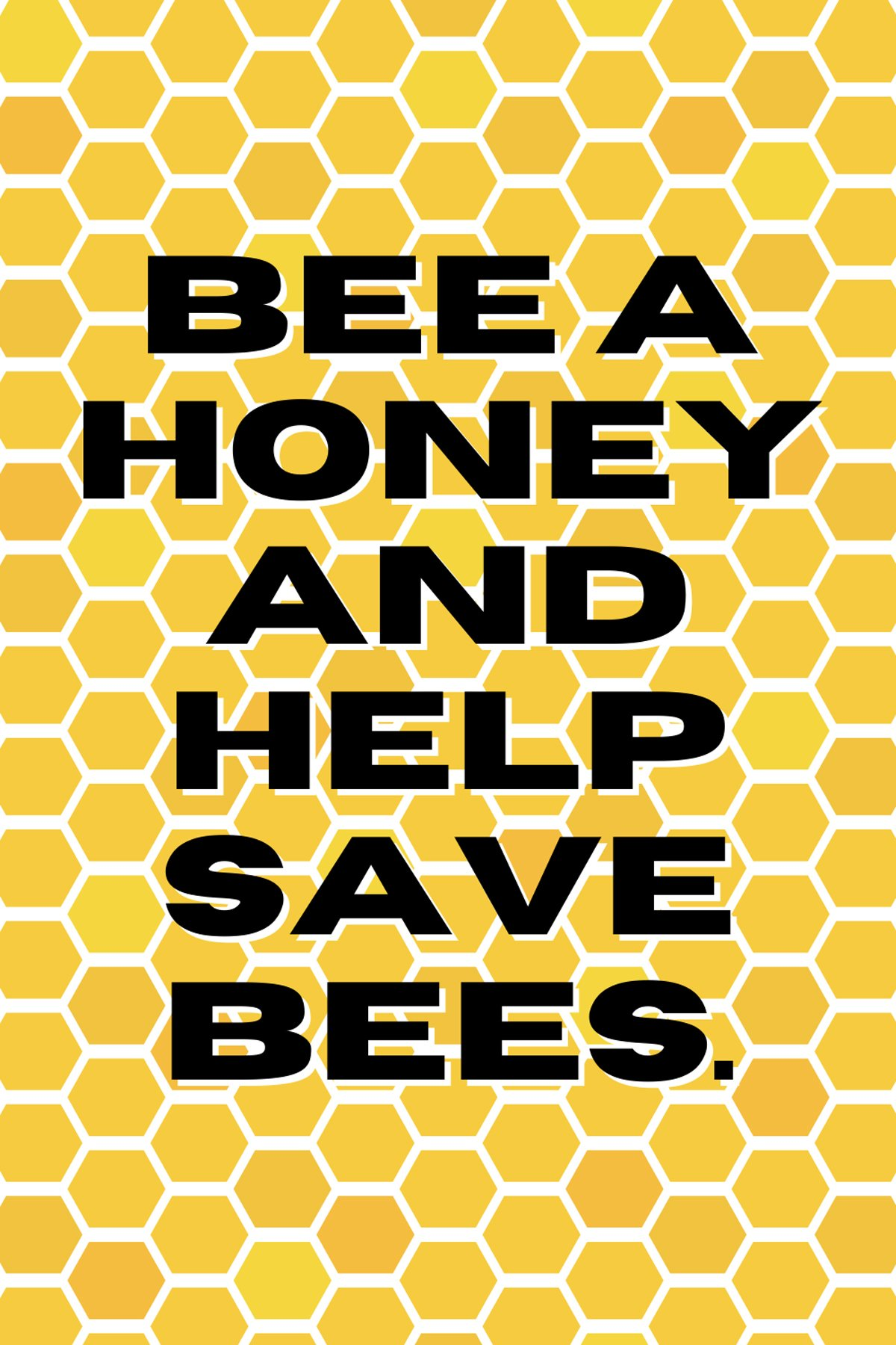 Save the Bees Quote
