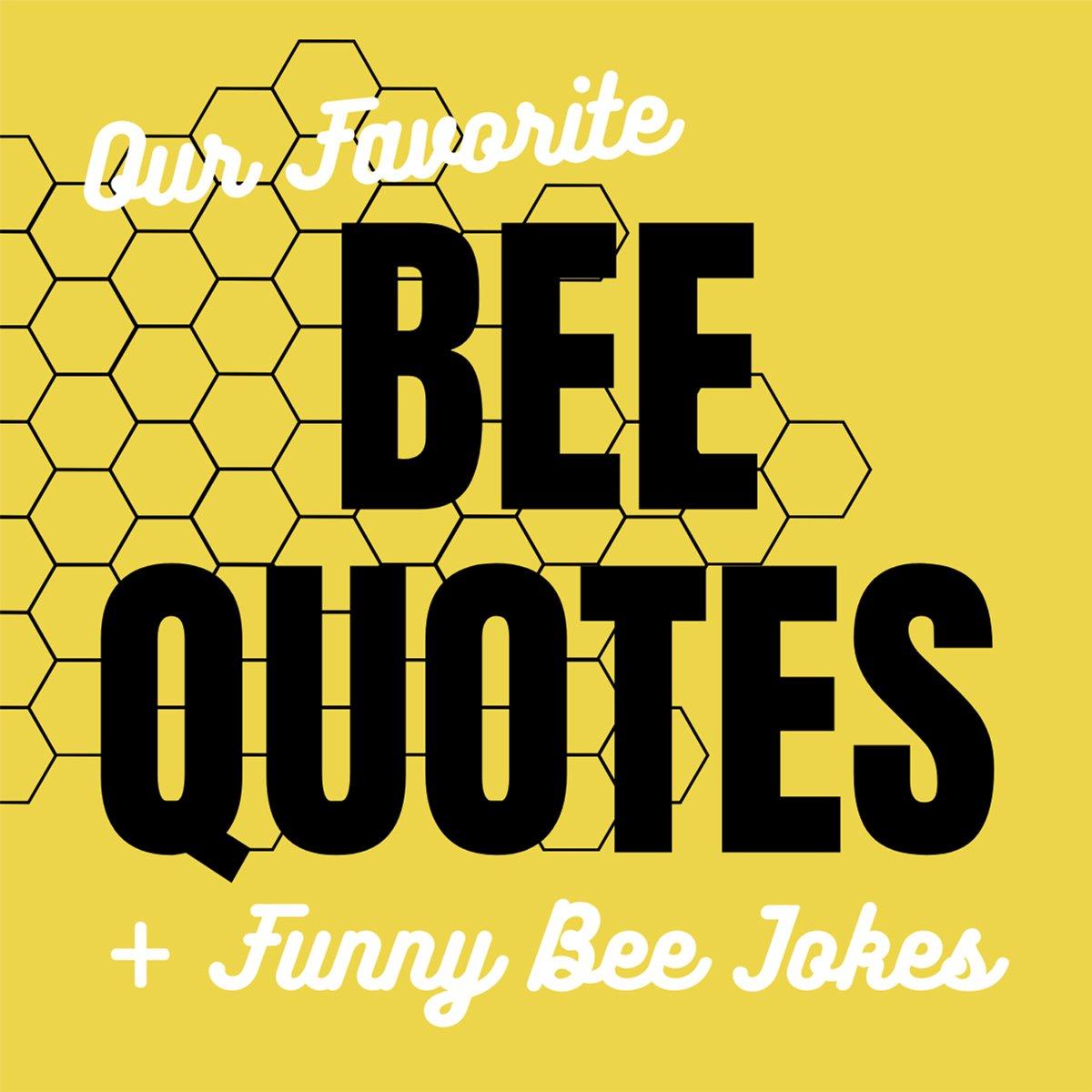 Bee Quotes Jokes