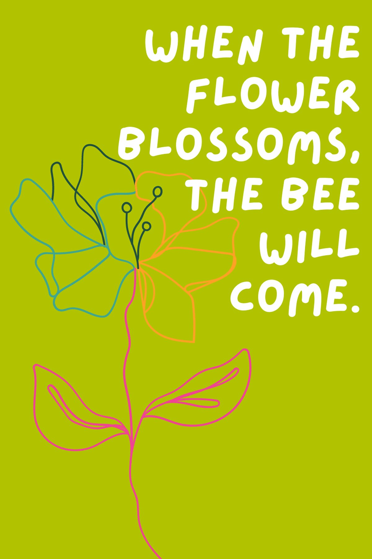 Flower Captions For Bees