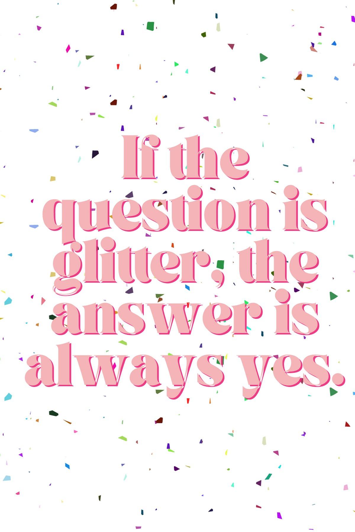 Glitter Sayings