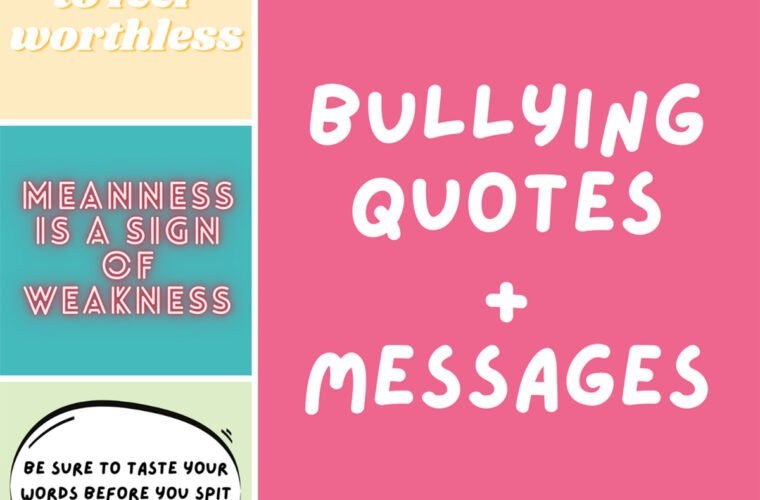 Bullying Quots