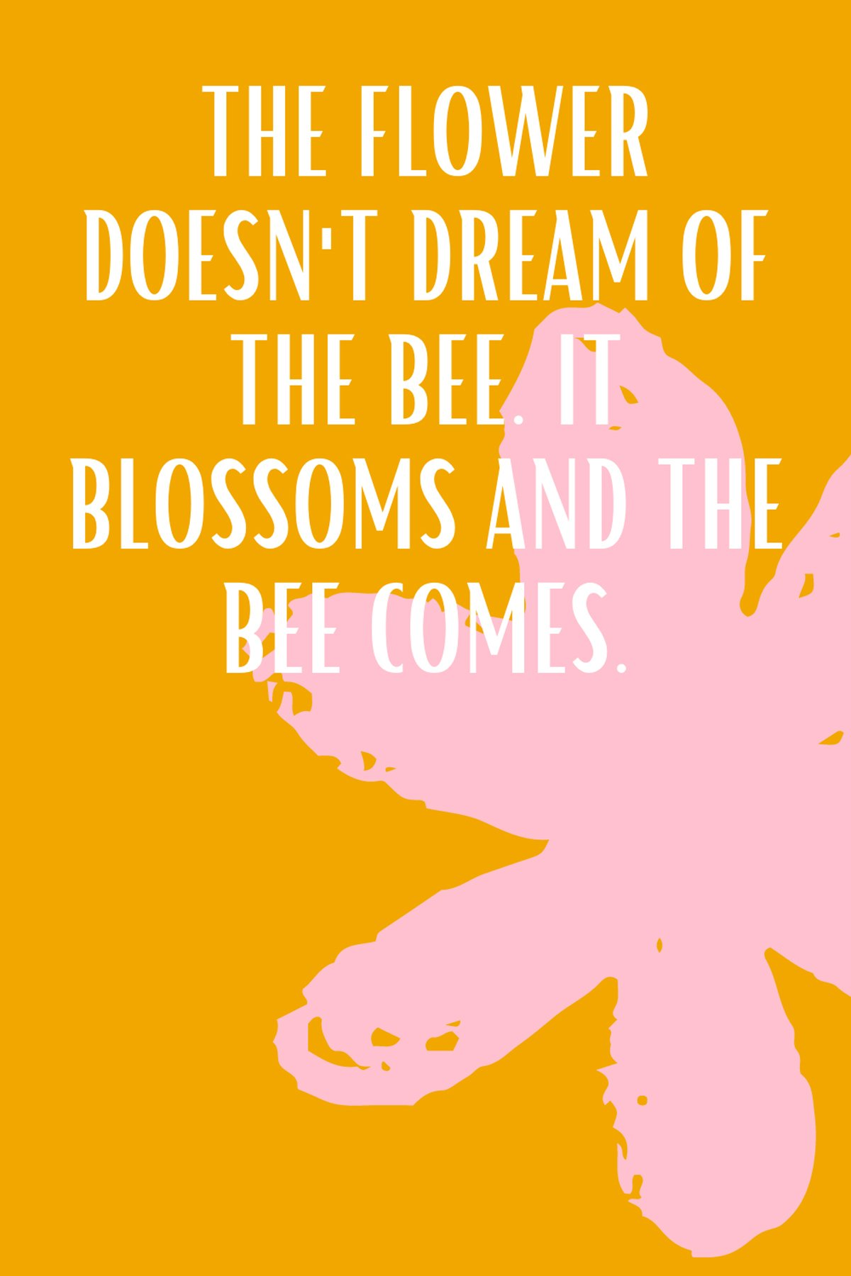 Bee and Flower Quotes