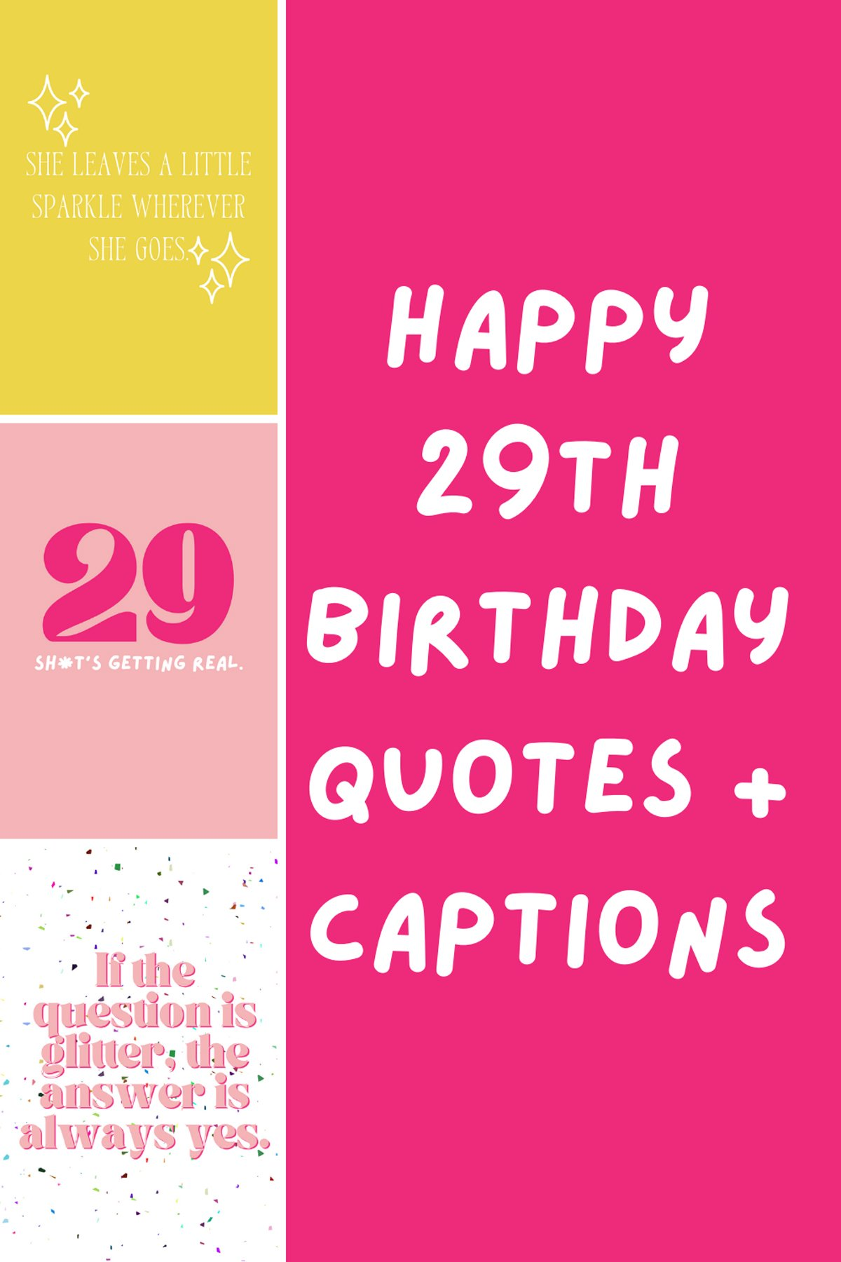 29th Birthday Quotes For Girls