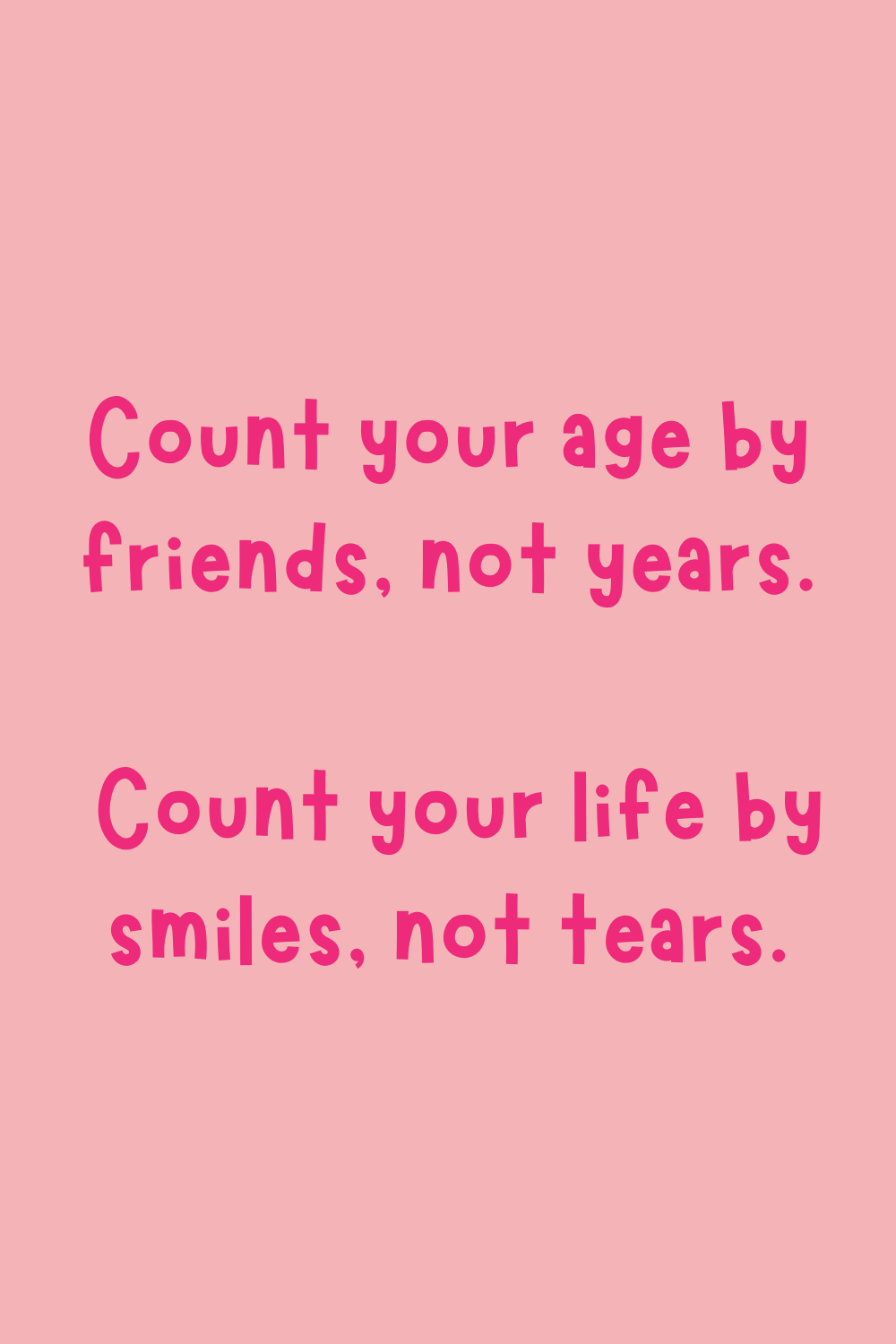 Sad Birthday Quotes About Friends
