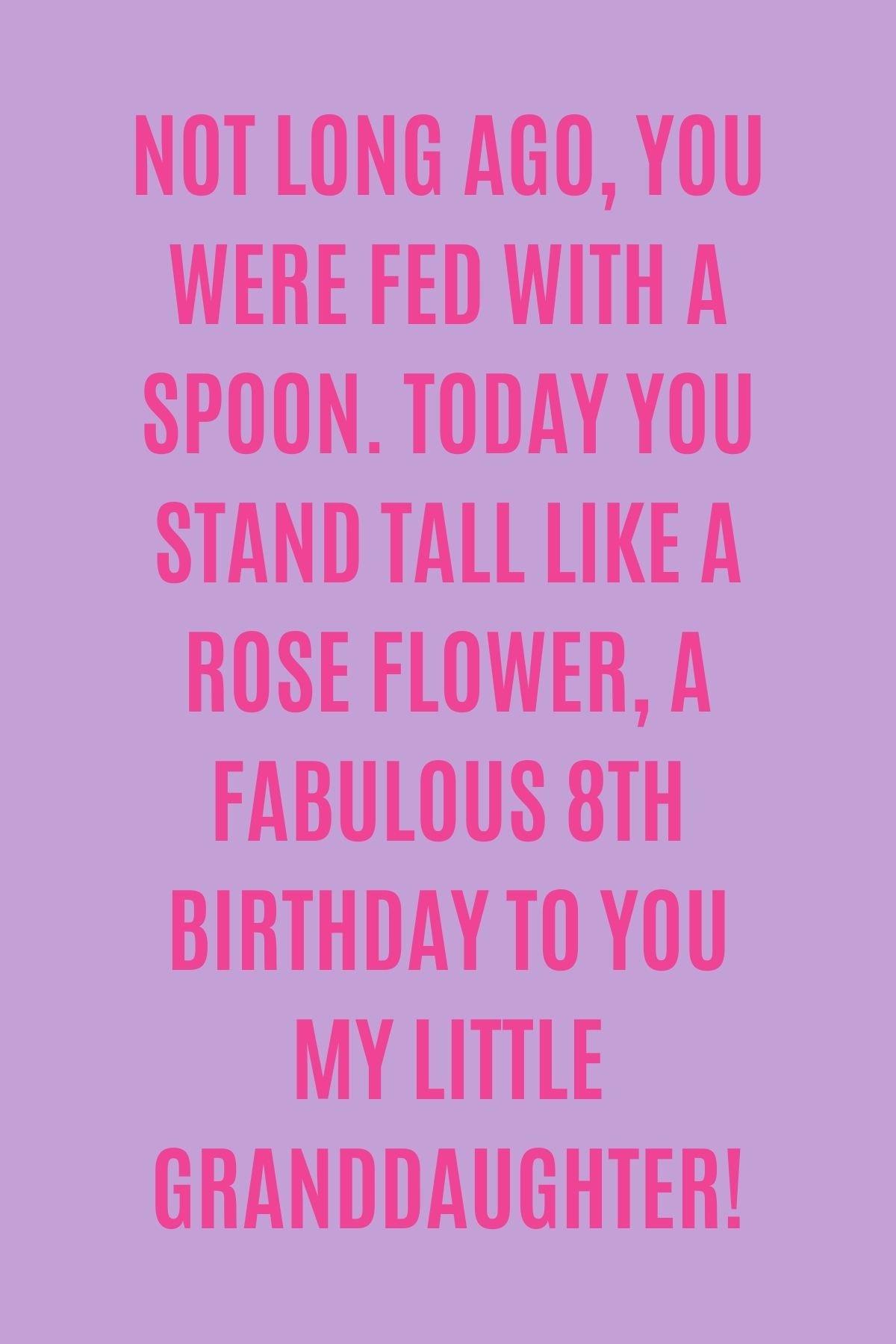 Birthday Sayings for Girls