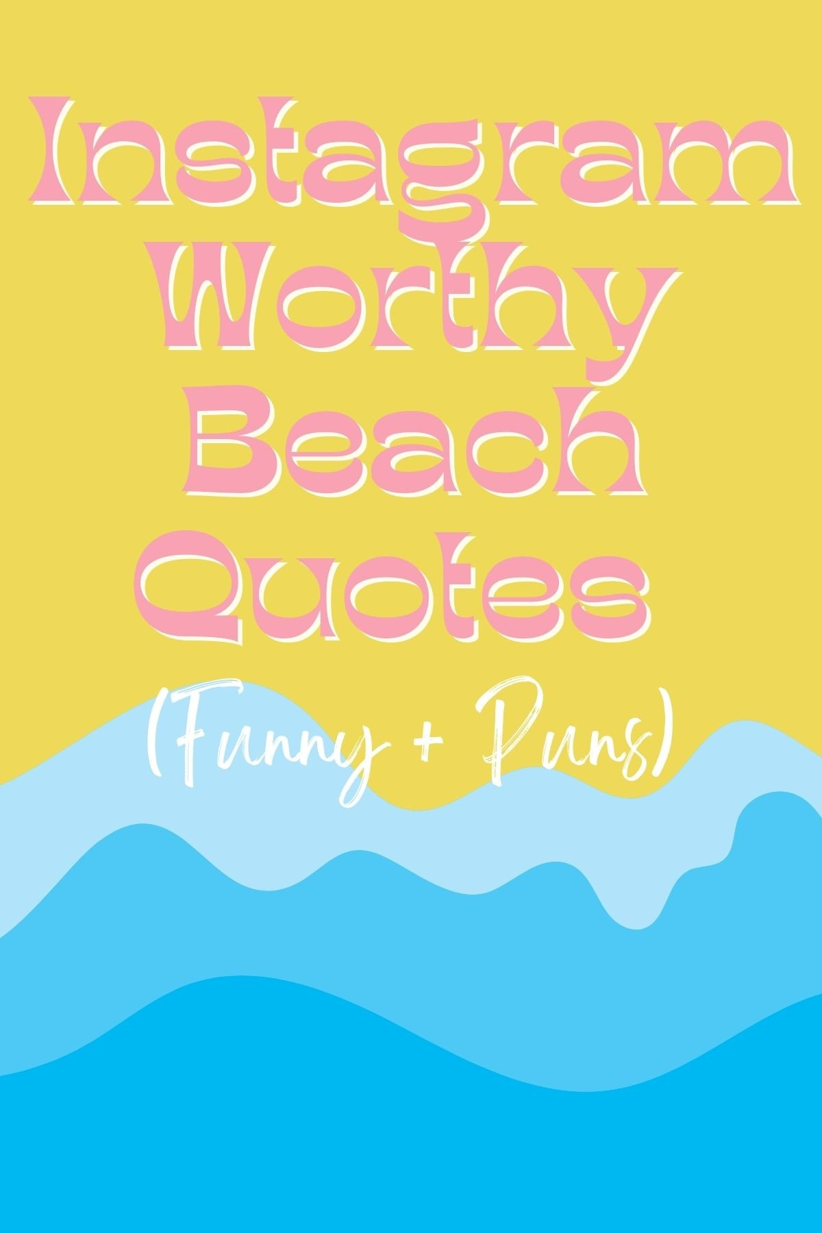 Ocean Sayings Funny