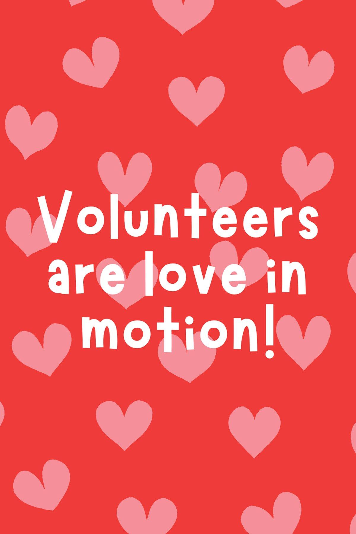 Volunteer Sayings