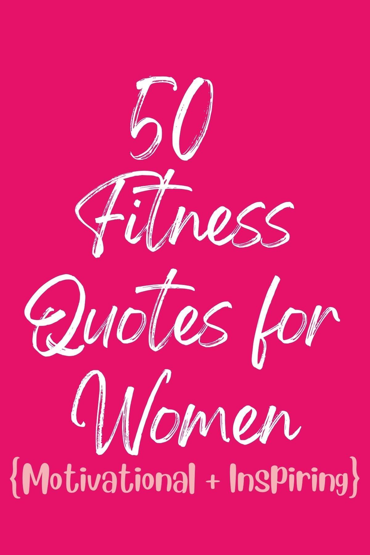 Gym Sayings For Girls