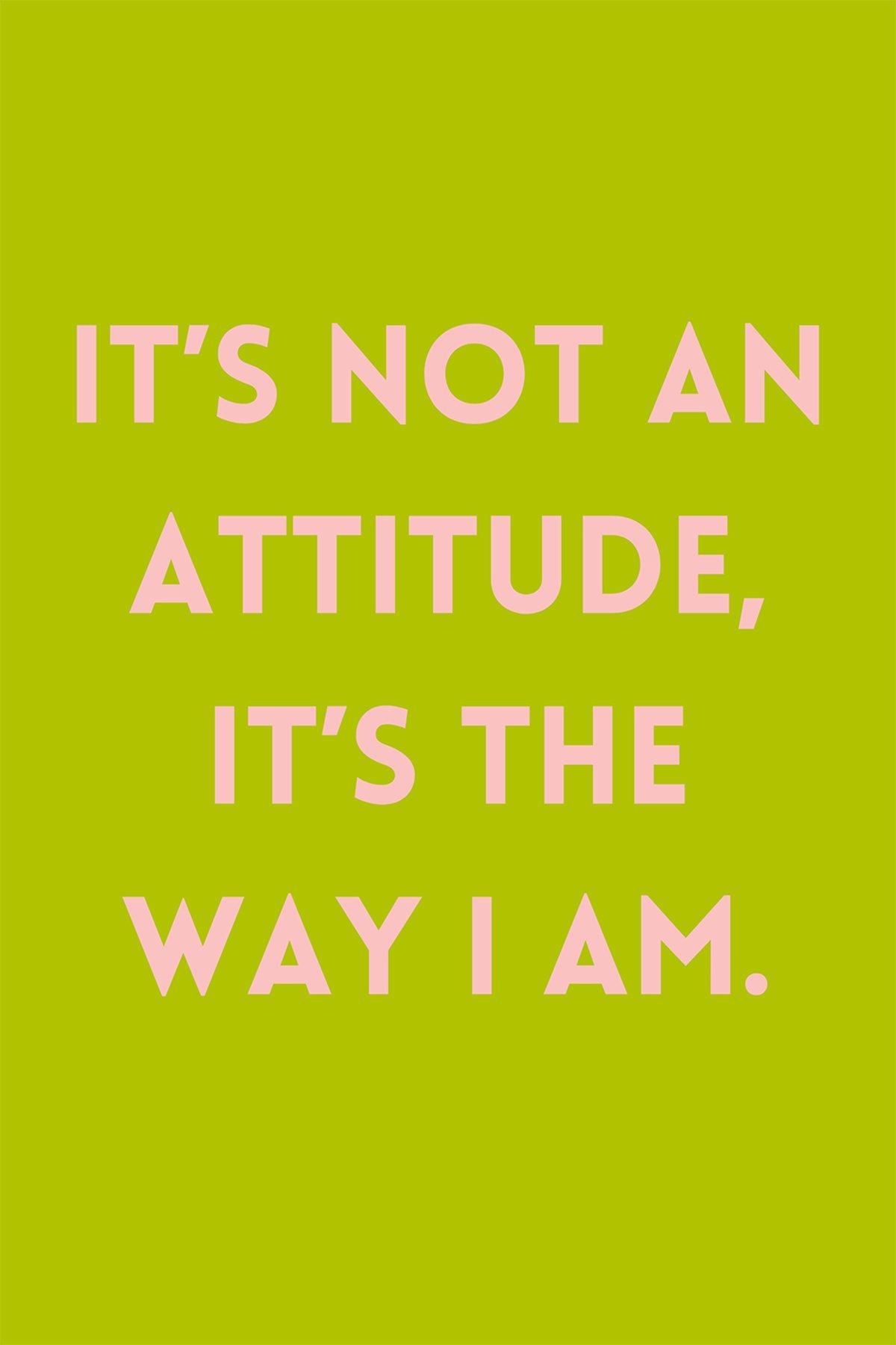 Girl Attitude Sayings