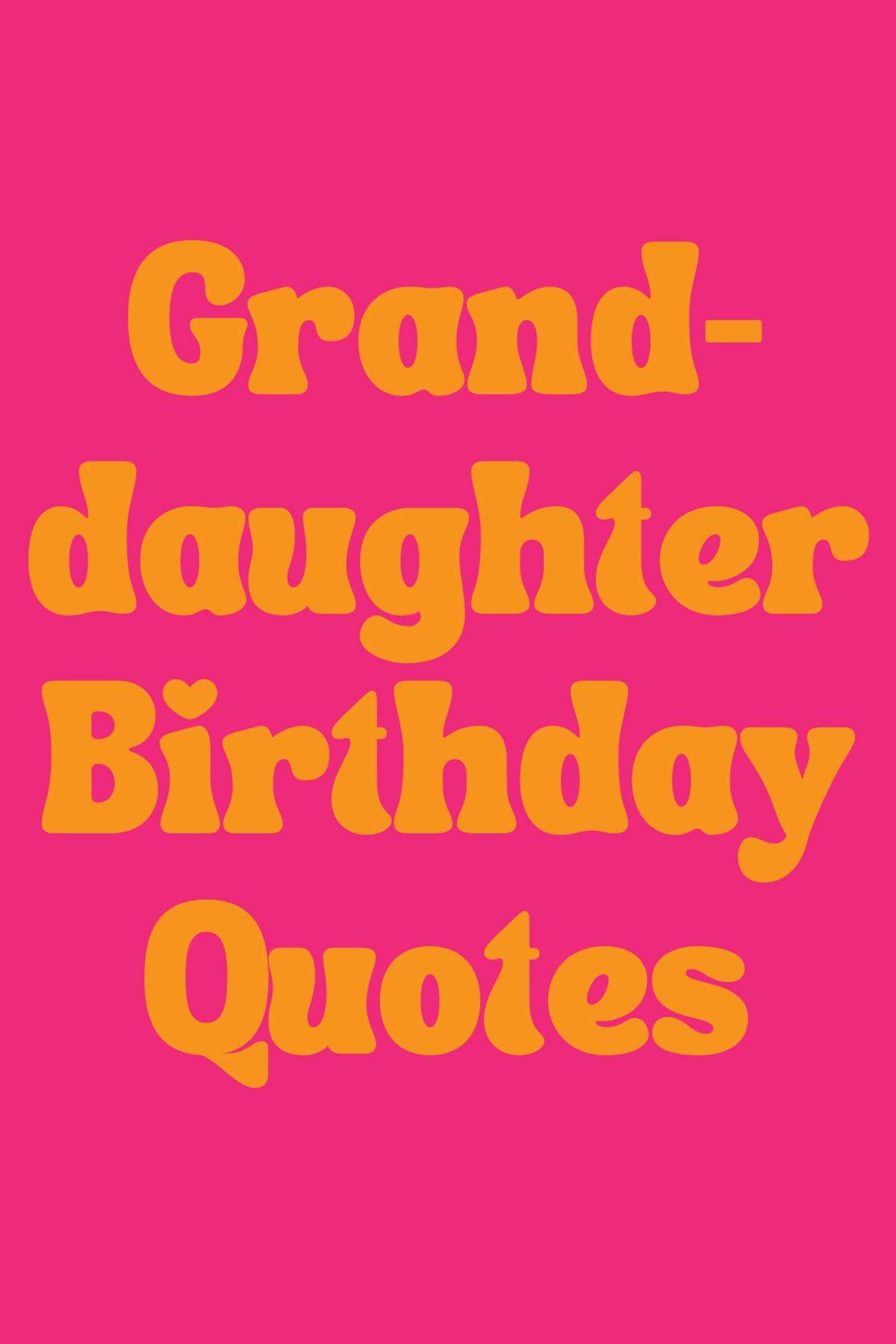Birthday Messages For Grandkids