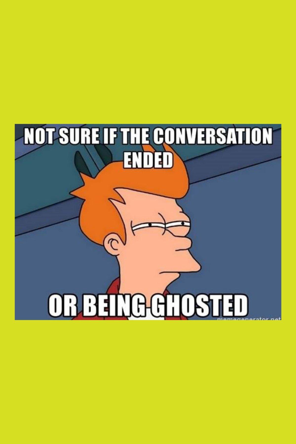 Funny Ghosting Meme