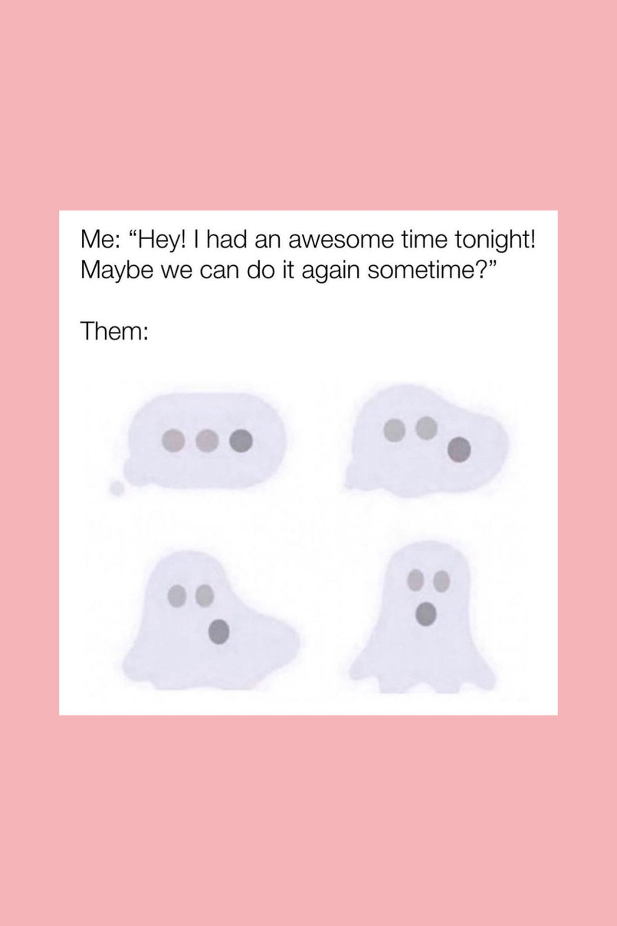 Funny Ghosting Quotes