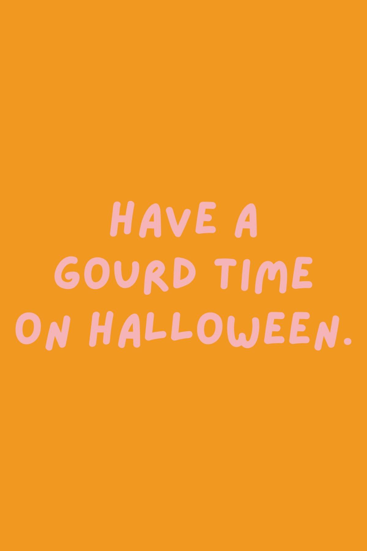 Halloween Sayings gourd