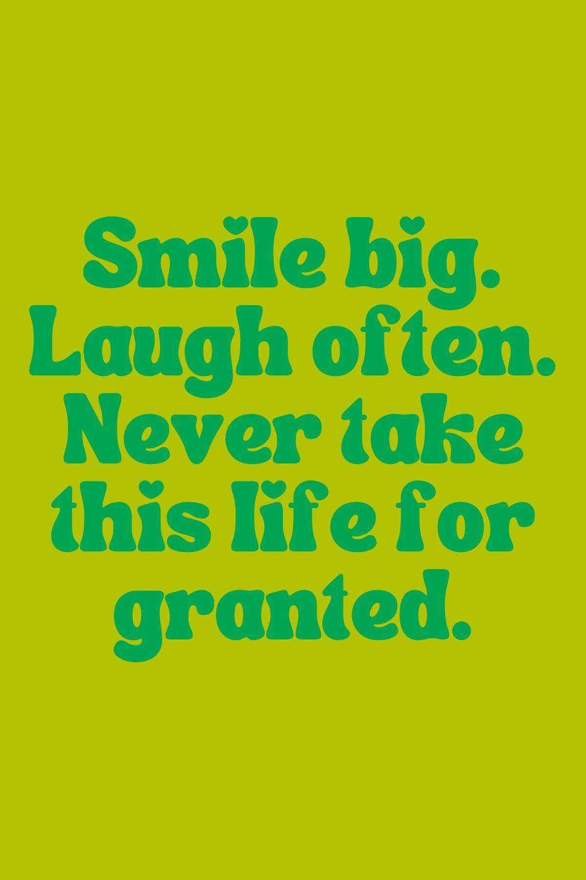 Reason to smile Sayings
